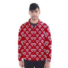 Diamond Pattern Wind Breaker (Men)
