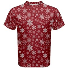 Merry Christmas Pattern Men s Cotton Tee