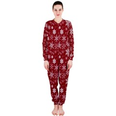 Merry Christmas Pattern Onepiece Jumpsuit (ladies)