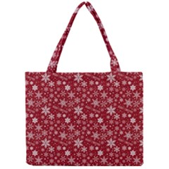 Merry Christmas Pattern Mini Tote Bag