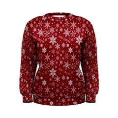 Merry Christmas Pattern Women s Sweatshirt