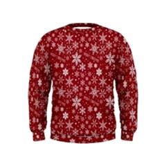 Merry Christmas Pattern Kids  Sweatshirt
