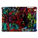 Abstract Psychedelic Face Nightmare Eyes Font Horror Fantasy Artwork Apple iPad Mini Hardshell Case View1