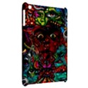 Abstract Psychedelic Face Nightmare Eyes Font Horror Fantasy Artwork Apple iPad Mini Hardshell Case View2