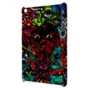 Abstract Psychedelic Face Nightmare Eyes Font Horror Fantasy Artwork Apple iPad Mini Hardshell Case View3