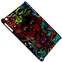 Abstract Psychedelic Face Nightmare Eyes Font Horror Fantasy Artwork Apple iPad Mini Hardshell Case View5