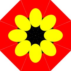 Flag Of Australian Aborigines Folding Umbrellas