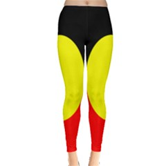 Flag Of Australian Aborigines Leggings