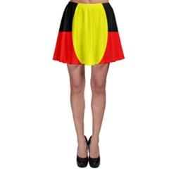 Flag Of Australian Aborigines Skater Skirt