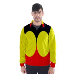 Flag Of Australian Aborigines Wind Breaker (men)