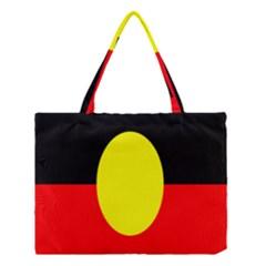 Flag Of Australian Aborigines Medium Tote Bag