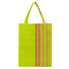 Lines Classic Tote Bag