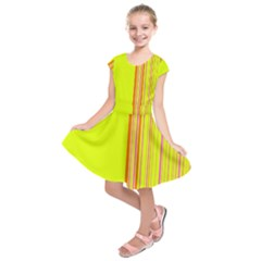 Lines Kids  Short Sleeve Dress
