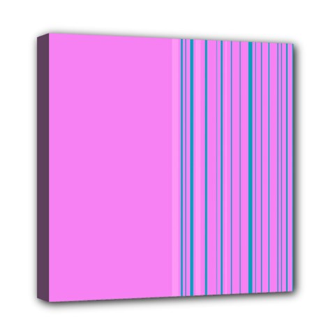 Lines Mini Canvas 8  x 8