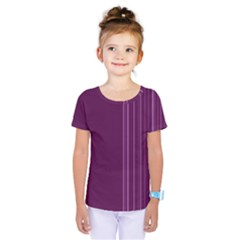 Lines Kids  One Piece Tee