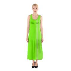 Lines Sleeveless Maxi Dress