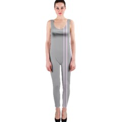 Lines Onepiece Catsuit