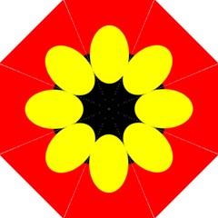 Flag Of Australian Aborigines Straight Umbrellas