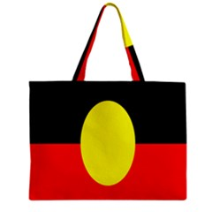 Flag Of Australian Aborigines Zipper Mini Tote Bag