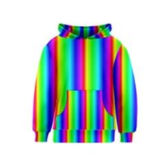 Rainbow Gradient Kids  Pullover Hoodie