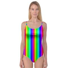 Rainbow Gradient Camisole Leotard