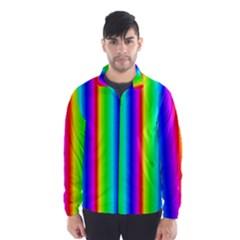 Rainbow Gradient Wind Breaker (Men)