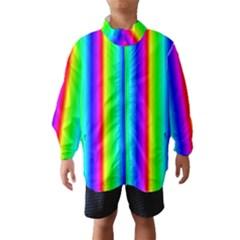 Rainbow Gradient Wind Breaker (Kids)