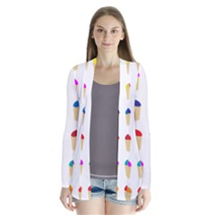 Colorful Cupcakes Pattern Cardigans
