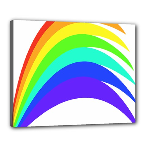 Rainbow Canvas 20  X 16