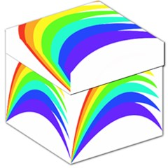 Rainbow Storage Stool 12