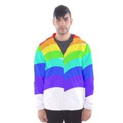 Rainbow Hooded Wind Breaker (men)