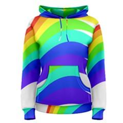 Rainbow Women s Pullover Hoodie