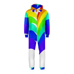 Rainbow Hooded Jumpsuit (Kids)