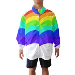 Rainbow Wind Breaker (Kids)