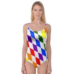 Rainbow Flag Bavaria Camisole Leotard
