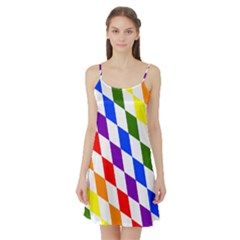 Rainbow Flag Bavaria Satin Night Slip