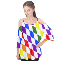 Rainbow Flag Bavaria Flutter Tees