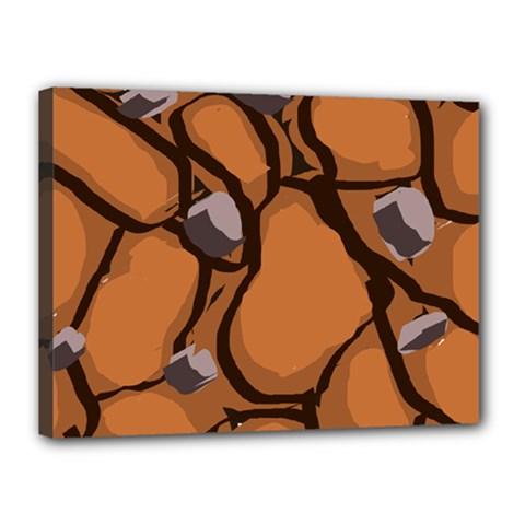 Seamless Dirt Texture Canvas 16  x 12
