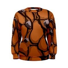 Seamless Dirt Texture Women s Sweatshirt