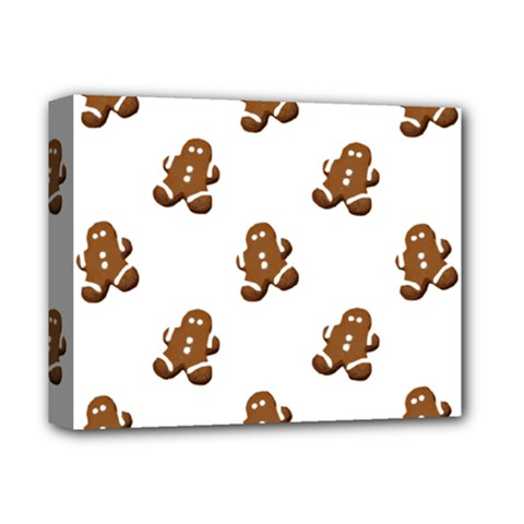 Gingerbread Seamless Pattern Deluxe Canvas 14  x 11