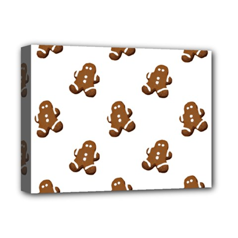 Gingerbread Seamless Pattern Deluxe Canvas 16  x 12