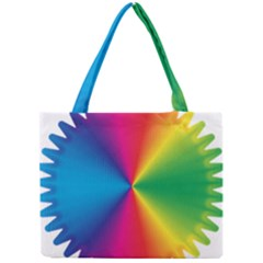 Rainbow Seal Re Imagined Mini Tote Bag