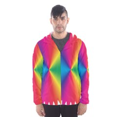 Rainbow Seal Re Imagined Hooded Wind Breaker (men)