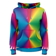 Rainbow Seal Re Imagined Women s Pullover Hoodie