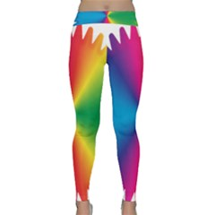 Rainbow Seal Re Imagined Classic Yoga Leggings