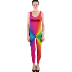 Rainbow Seal Re Imagined OnePiece Catsuit