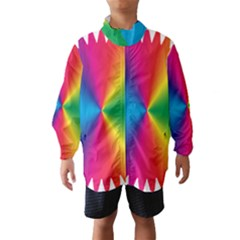 Rainbow Seal Re Imagined Wind Breaker (kids)