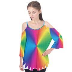 Rainbow Seal Re Imagined Flutter Tees