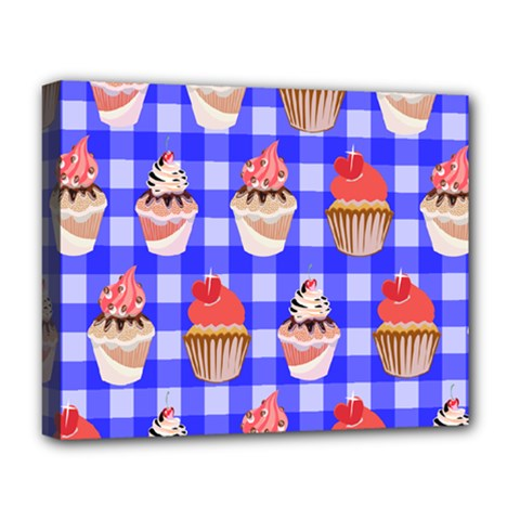 Cake Pattern Deluxe Canvas 20  x 16