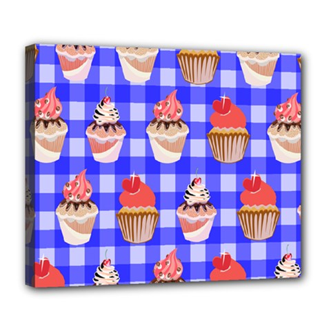 Cake Pattern Deluxe Canvas 24  X 20